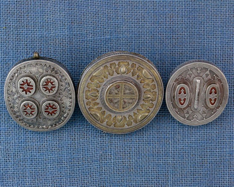 Central Asia, Turkestan, Afghanistan, collection of one silver single finger rin…