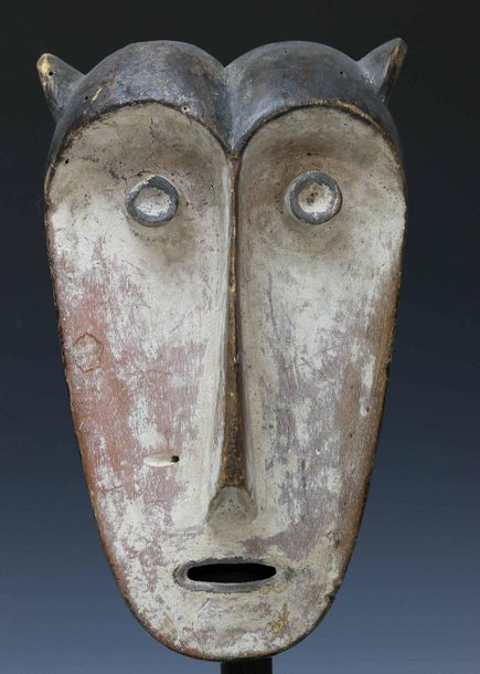 Gabon, Fang, masker., Private collection, Berlin., h. 29,5 cm. [1]