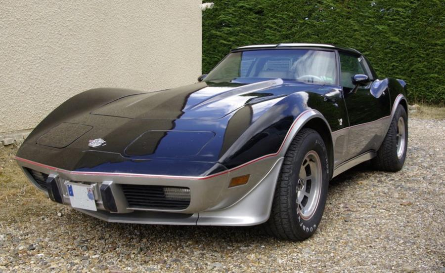 CHEVROLET Corvette C3 Pace Car 25th Anniversary Edition Châssis n° 1Z87485902806...