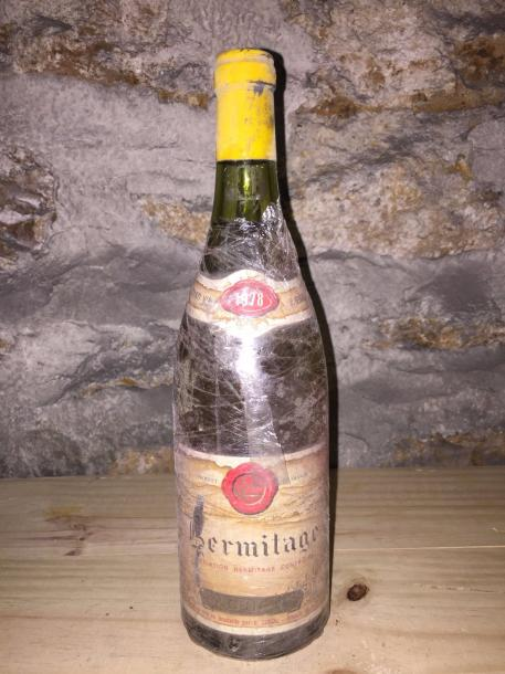 1 Blle HERMITAGE BLANC (Guigal) 1978 - Belle
