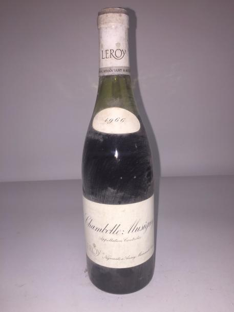 1 Blle CHAMBOLLE MUSIGNY (Leroy) 1966 - NB