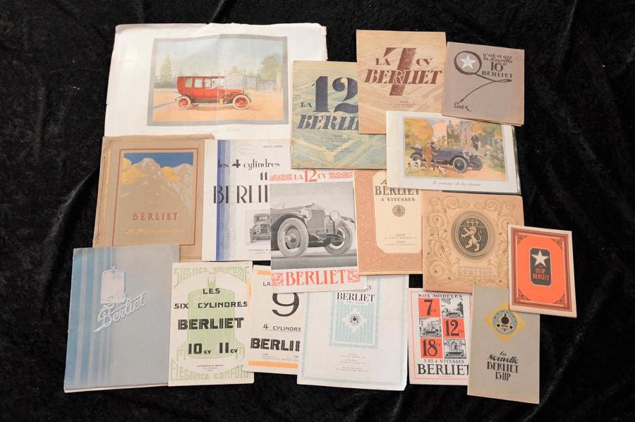 """Catalogues BERLIET de 1912 à 1934""  Catalogue, Reliure cordon, 1912, 46 pages-…"