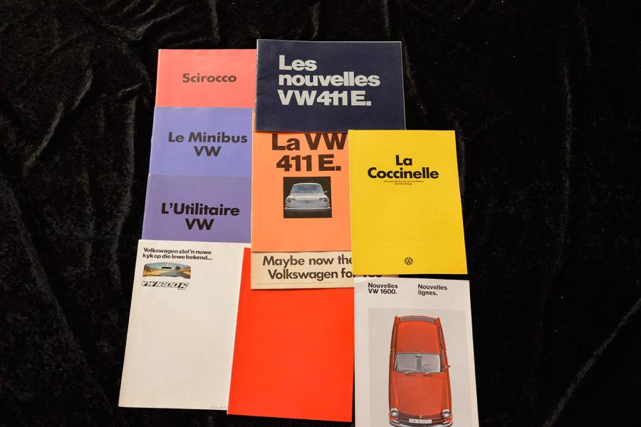 """Catalogues Volkswagen de 1962 à 1981""  VW Type 3: Catalogue, 14 pages-  Cars et…"