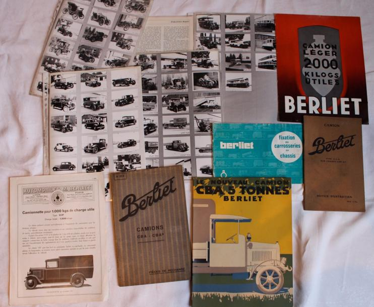 « Catalogues Berliet, documentations Automobiles, Camions et Autobus » 