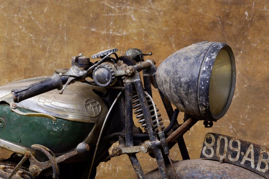 1938  Terrot type HLG  Cadre n° 195707 - Moteur 350 cc  A immatriculer en collection…