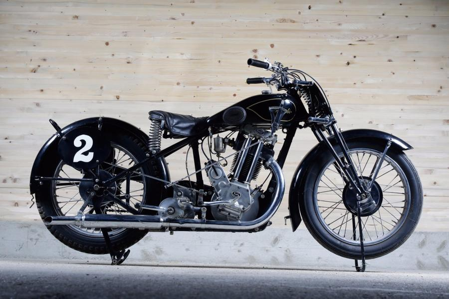 1937  Sarolea 600 CC  Moteur n° 31 S 305120  A immatriculer en collection Saroléa…