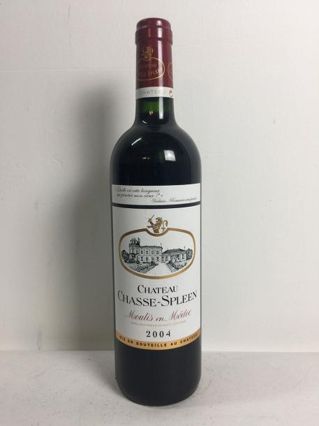 4 Blle Château CHASSE SPLEEN (Moulis) 2004 - Belles