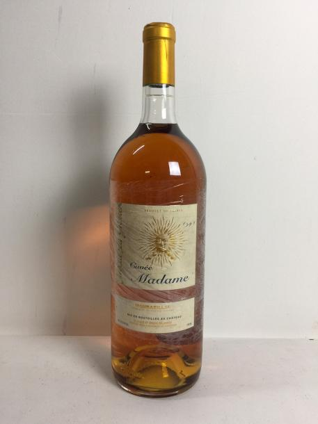 1 Mag Château TIRECUL LAGRAVIERE CUVEE MADAME (Montbazillac) 1998 - Beau