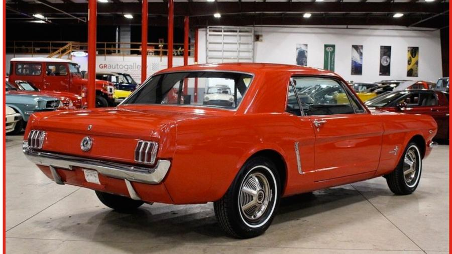 1965 FORD MUSTANG 289 COUPE Châssis n° 5R07C190010 Carte grise de collection La Mustang…