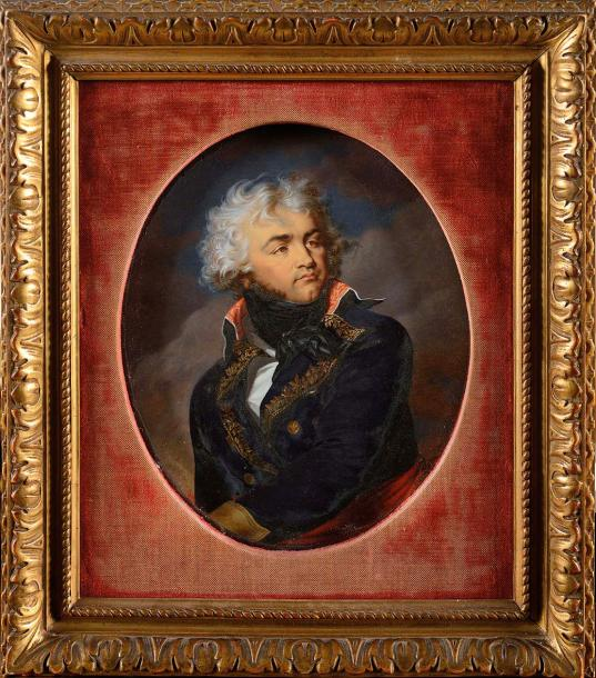 Joseph HEIGEL (Munich, 1780 – Paris, 1837) Portrait du Général Kléber en uniforme…