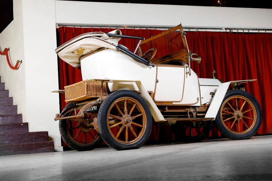 1911 LE ZEBRE  Type A  Châssis n° 638  Ex Collection Brasserie KRONENBOURG  Carte...
