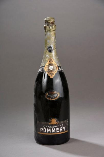 "1 magnum CHAMPAGNE "" Pommery 1962 (LB)"