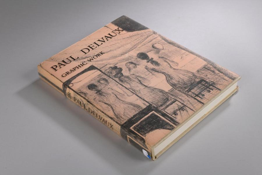 DELVAUX (Paul)]. Paul Delvaux. Graphic Work. Preface, Notes and Catalogue by Mira…