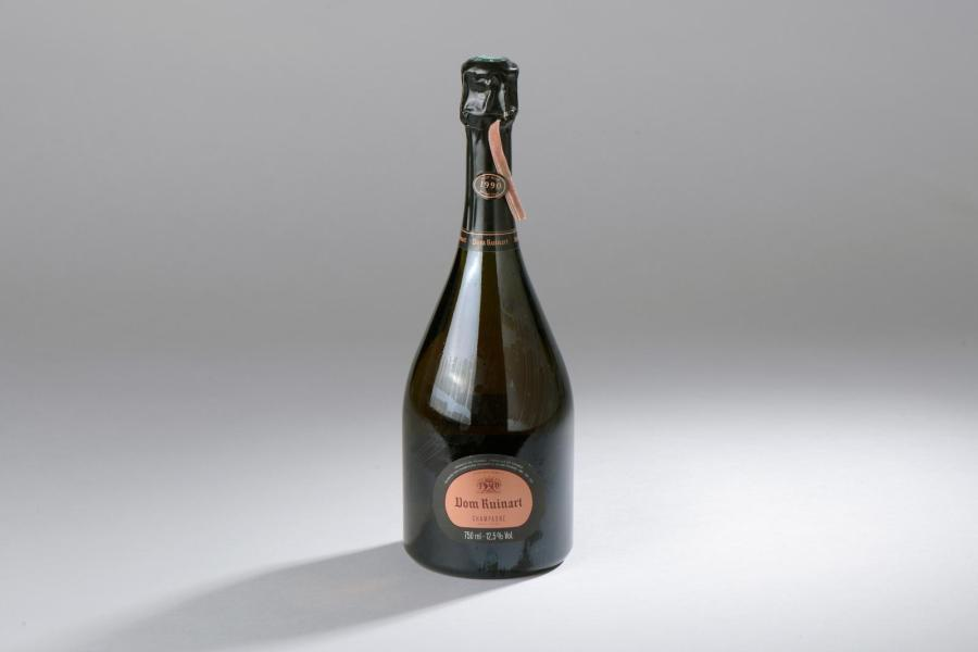 "1 bouteille CHAMPAGNE ""Dom Ruinart"", Ruinart 1990 (rosé)"