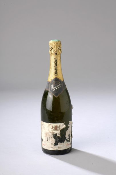 1 bouteille CHAMPAGNE Reyers 1961 (ea)