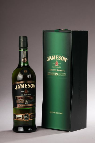 "*1 bouteille IRISH WHISKEY ""Limited Reserve"", Jameson 18 ans"