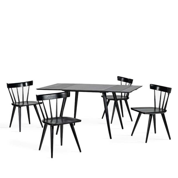 PAUL MCCOBB (1917 1969) Table, 4 chaises de la série Planner group Bouleau teint…