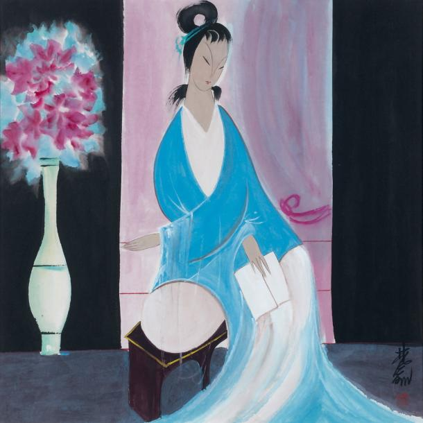 LIN FENGMIAN (1900-1991) Ecole chinoise
