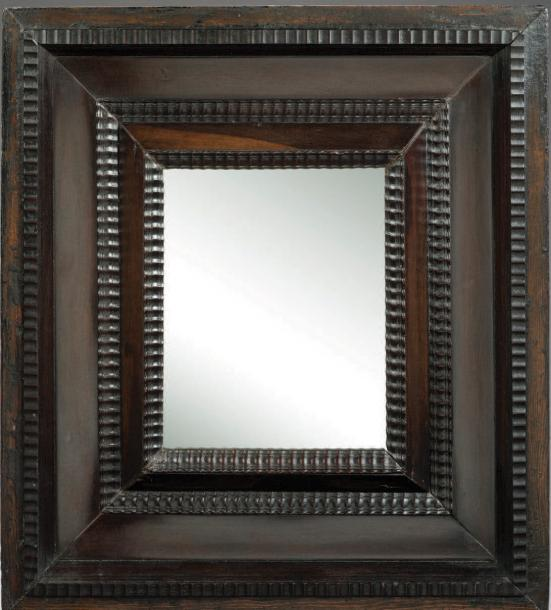 Petit miroir bois d 39 eb ne h 47 5 cm l 43 5 cm flandres for Miroir miroir full movie