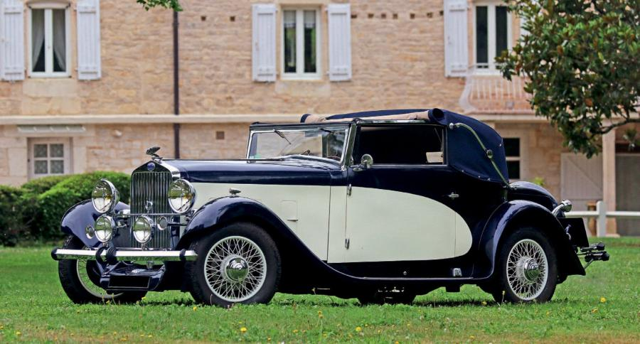 1933 delage d6 11 cabriolet mylord carosserie letourneur marchand carte. Black Bedroom Furniture Sets. Home Design Ideas