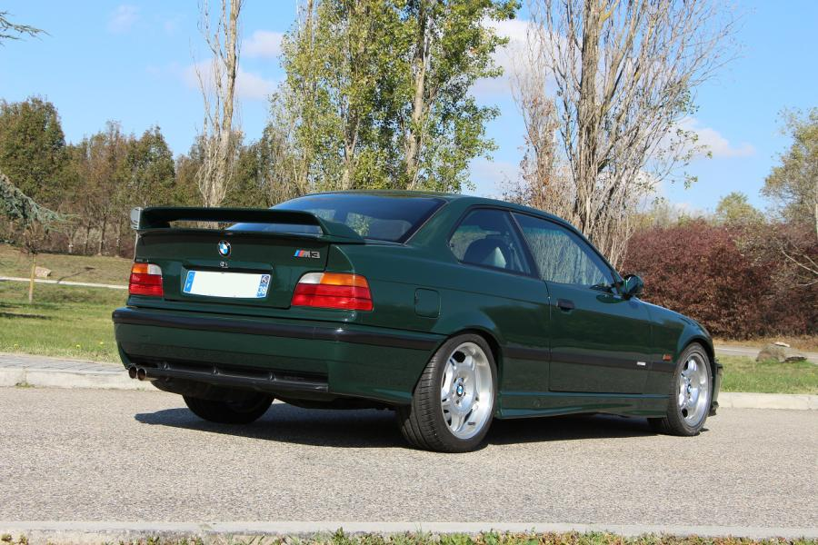 1996 - BMW M3 GT E36 L'apparition en 1986 du «M» de BMW Motorsport sur la BMW E30…
