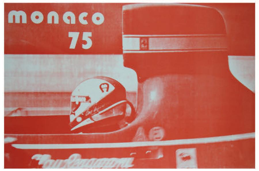 Grand Prix de Monaco 1975 Affiche originale Création l'Artichaut Photo de P. Lorillou…