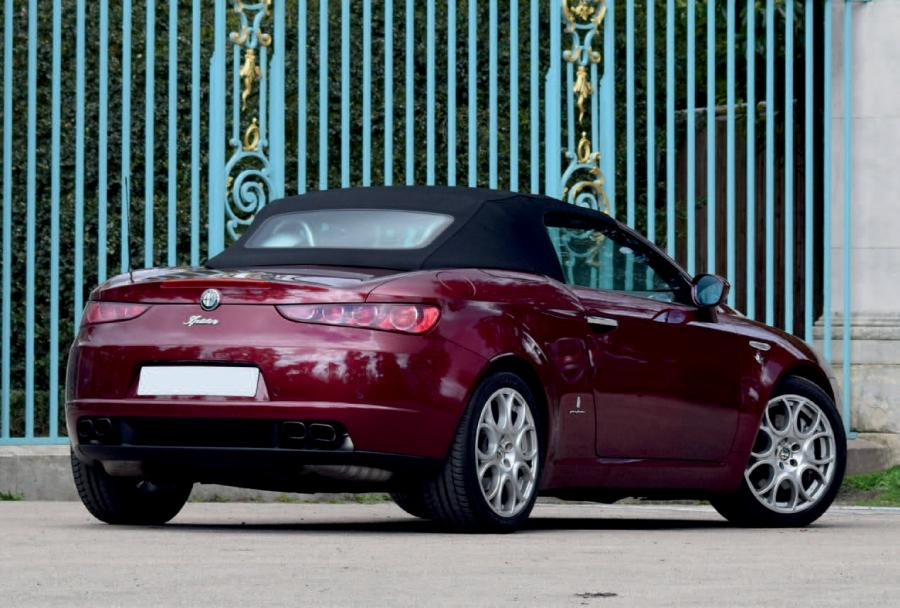 2006 alfa romeo brera spider v6 depuis toujours les cabriolets alfa romeo. Black Bedroom Furniture Sets. Home Design Ideas