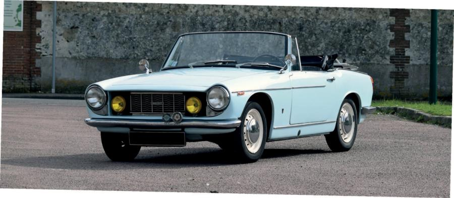 INNOCENTI 1100 S SPIDER - 1966 Carte grise française de collection 302048 Seulement…