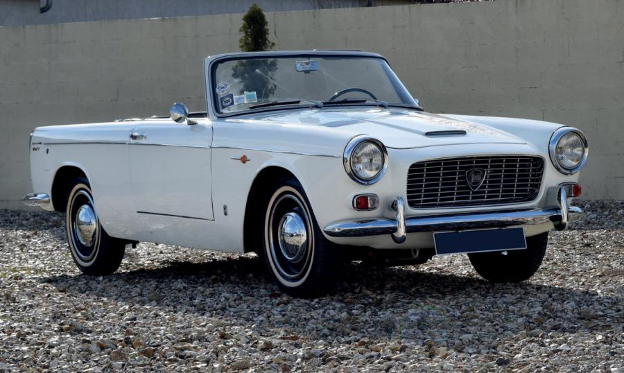 LANCIA APPIA CONVERTIBLE VIGNALE - 1961 Carte grise française de collection 812014952…