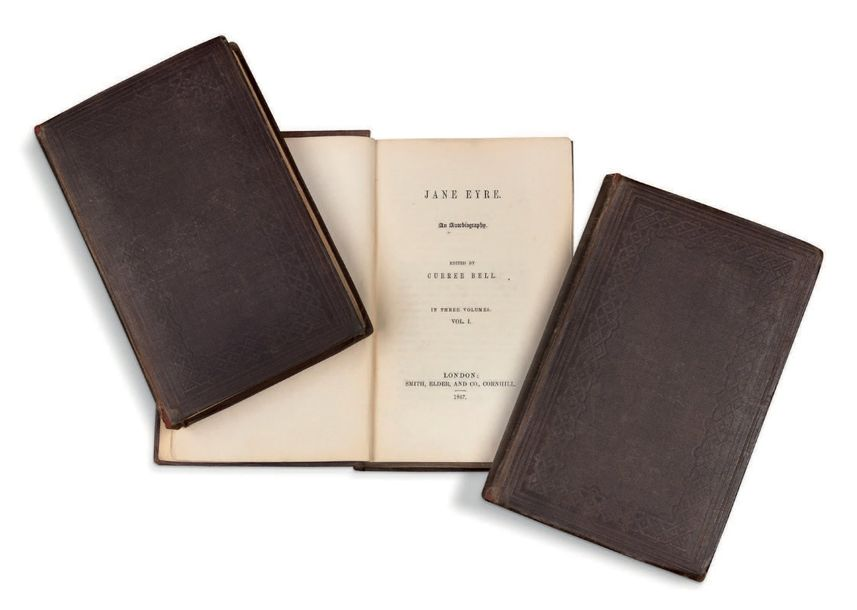 [CHARLOTTE BRONTË] (1816-1855) Jane Eyre. An autobiography, edited by Currer Bell.…