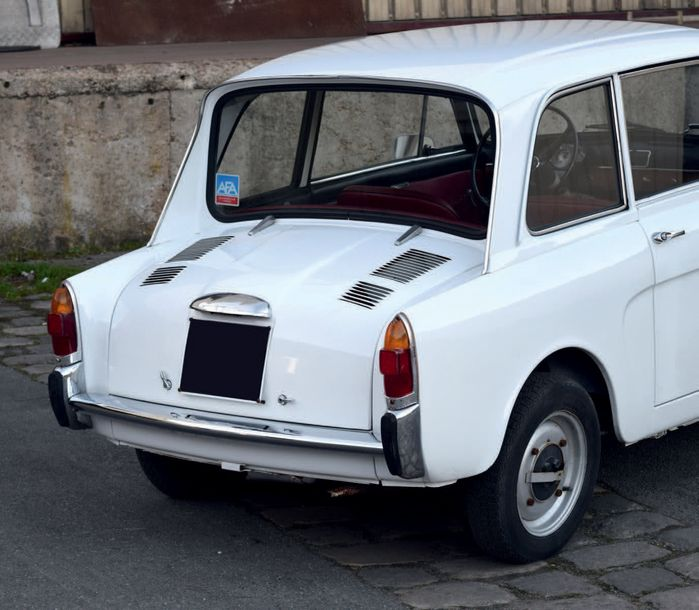 1969 Autobianchi Bianchina LUTÈCE Plus rare qu'une Fiat 500 Terriblement attachante…
