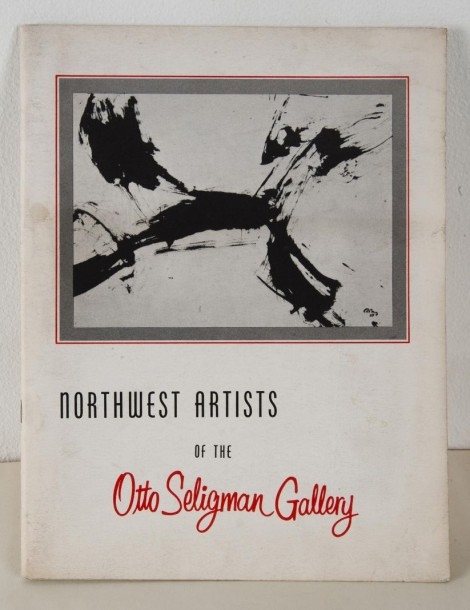 SELIGMAN (Otto) NORTHWEST ARTISTS. Seattle, Washington. 1962. In-4 (28x21, 5 cm),…