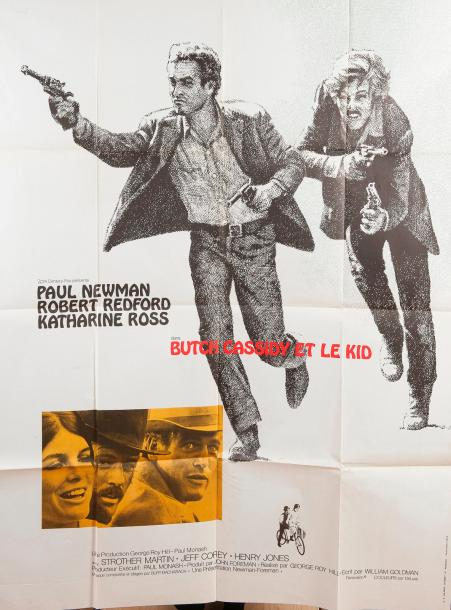 Butch Cassidy et le kid, de George Roy Hill avec Paul Newman et Robert Redford  Affiche,…