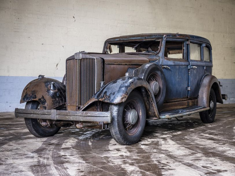 Hupmobile Limousine 8 cylindres Hupmobile Limousine 8 cylindres 1928 N° châssis ou…