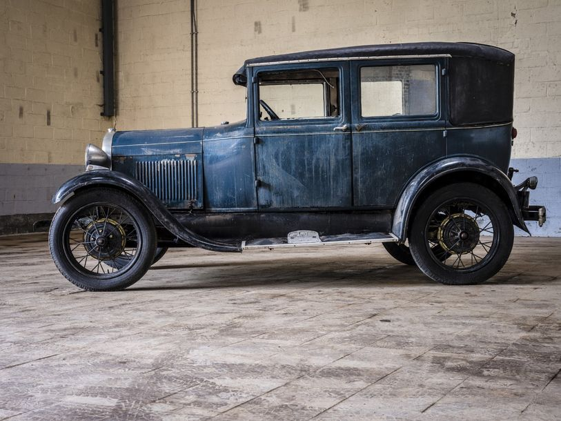 Ford A berline Ford A berline 1930 N° châssis ou moteur : BW413 Ford a construit…