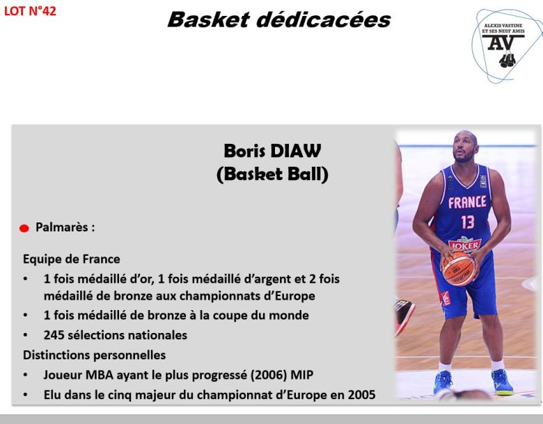 BORIS DIAW BASKET BALL BASKET