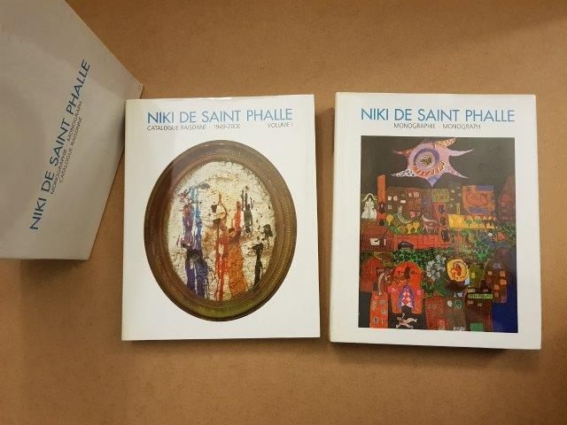 SAINT PHALLE ( de) Niki [2 vol] Monographie  Catalogue raisonnée 1949-2000