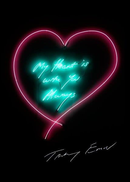 EMIN Tracey ( Britannique, née en 1963) My heart is with you always Impression offset…