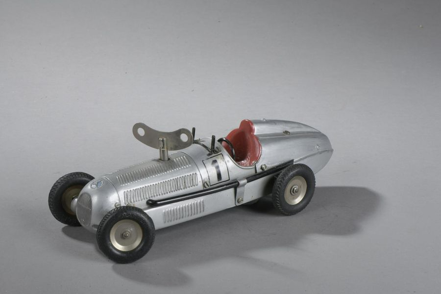 GERMANY MARKLIN - Automobile Course Mercedes - Mecanique  Dim. 28 cm