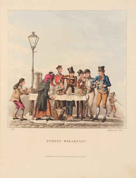 RIGMAROLL Olio Airy nothings. Londres, Pyall; Hunt, 1825; in-4, demi-maroquin bordeaux…