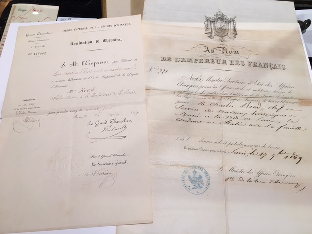 [READ Louise] Ensemble de divers documents. De 1861 à 1901; formats divers: — Reçu…