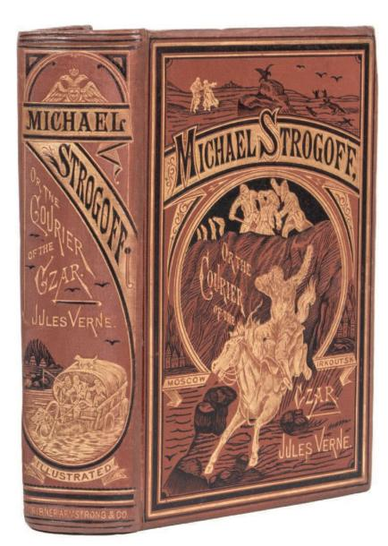 *[Russie] Michael Strogoff or The Courier of the Czar by Jules Verne. Illustrations…