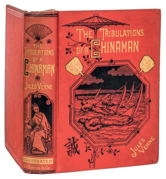 *[Chine] The Tribulations of a China Man by Jules Verne. Illustrations de Benett.…