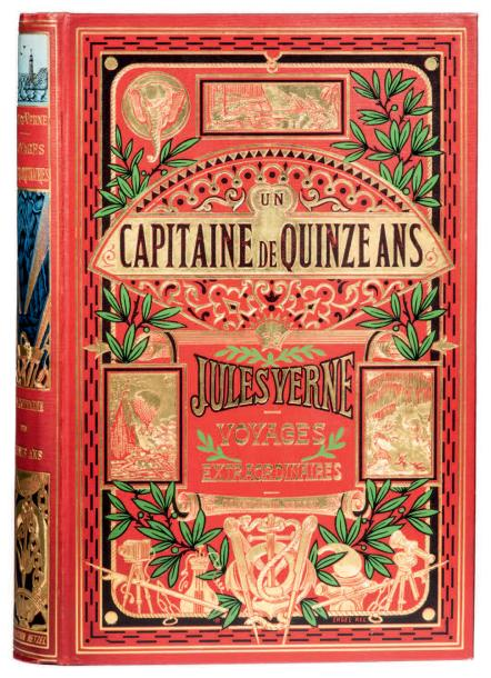 * [Afrique] Un Capitaine de quinze ans par Jules Verne. Illustrations de Henri Meyer.…