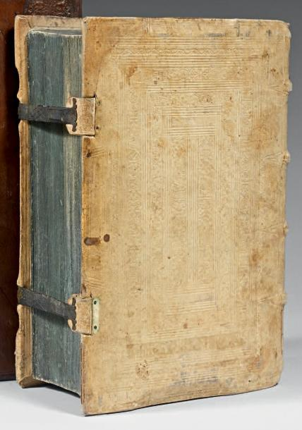 [INCUNABLE]. Die Epistel. S.l.n.d. Fort volume in-4° (180 x 265 mm), vélin ivoire…