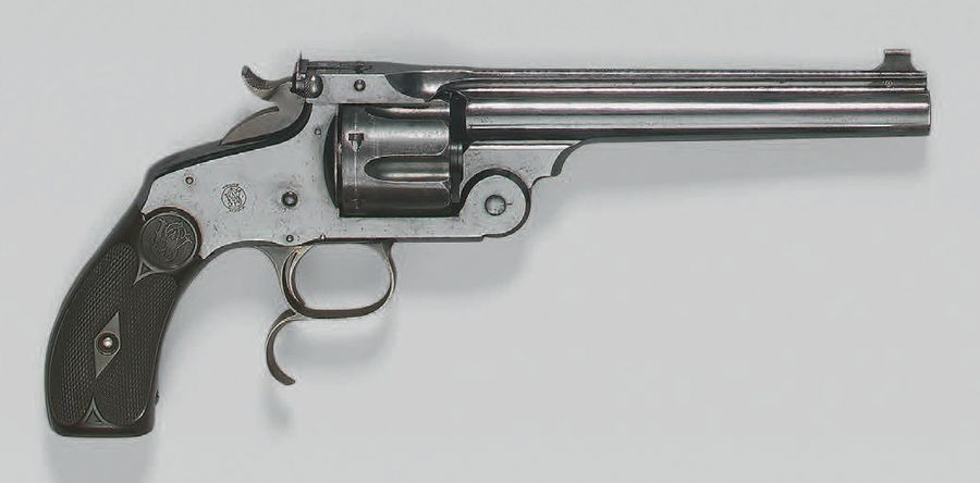 Revolver Smith & Wesson new model N° 3 Target, simple action, calibre 44 Smith &…