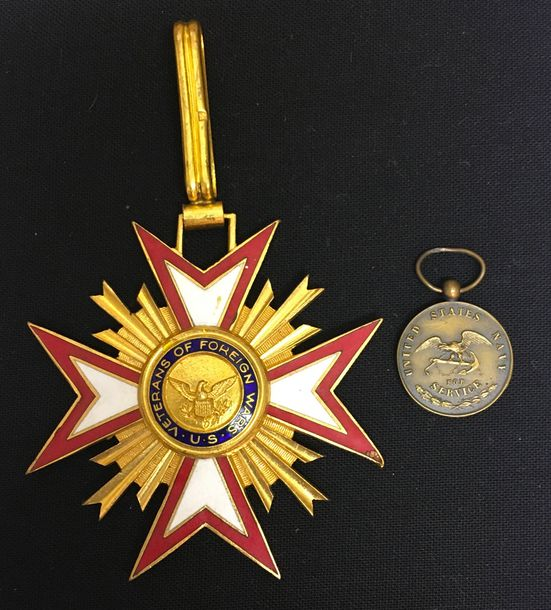 États Unis d'Amérique, USA, Veteran of the Foreign Wars, croix de commandeur en …