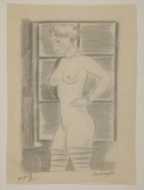 TOUCHAGUES (Louis). Nus. Paris : Marthe Fequet et Pierre Baudier, 1932. -Album in-4,…
