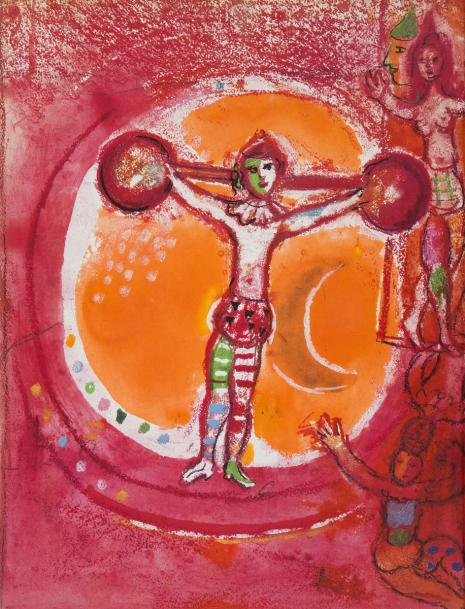 CHAGALL (Marc). Chagall lithographe. Monte-Carlo : André Sauret, [1969-1986]. -…