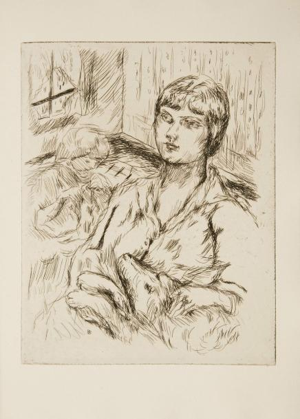 MIRBEAU (Octave) - BONNARD (Pierre). Dingo. Paris : Ambroise Vollard, 1924. - In-folio,…